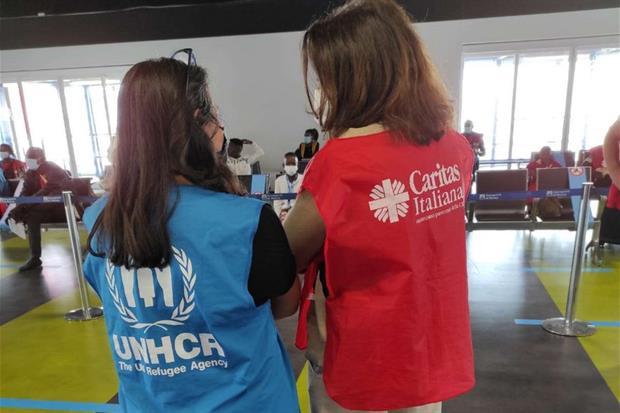 Caritas e Unhcr hanno collaborato per rendere possibile questo arrivo - Caritas italiana